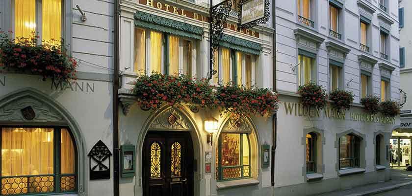 Hotel Wilden Mann, Lucerne, Switzerland - hotel exterior.jpg